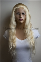 Full Lace Brazilian Remy Natural Wavy