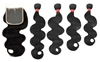 MURI SELECT - 4 Bundles + 4x4 Lace Closure - Body Wave