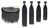 MURI SELECT - 4 Bundles + 13x4 Lace Frontal Closure - Straight