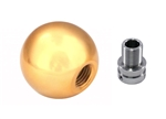 Torque Solution Billet Shift Knob (Gold): Volkswagen / Audi Manual Transmission