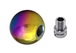 Torque Solution Billet Shift Knob Kit (Neo Chrome): Volkswagen / Audi Manual Transmission