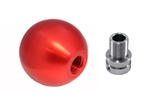 Torque Solution Billet Shift Knob Kit (RED): Volkswagen / Audi Manual Transmission