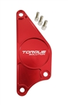 Torque Solution Billet Aluminum Cam Plate (Red): Subaru BRZ / Scion FR-S 2013+