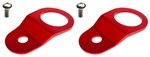 Torque Solution Radiator Mount Combo (RED) : Mitsubishi Evolution 7/8/9