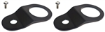 Torque Solution Radiator Mount Combo (Black) : Mitsubishi Evolution 7/8/9