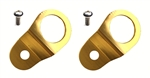 Torque Solution Radiator Mount Combo (Gold) : Mitsubishi Evolution 7/8/9