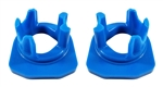 Torque Solution Porsche Engine / Transmission Mount Inserts (Race): Porsche 981 Boxster, Cayman / 911 (991)