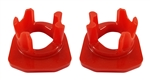 Torque Solution Porsche Engine / Transmission Mount Inserts (Street): Porsche 981 Boxster, Cayman / 911 (991)