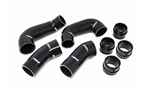 Torque Solution Intercooler Boost Hose Set: Porsche 911 / 997.1 3.6L Turbo