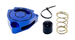 Torque Solution Blow Off BOV Sound Plate (Blue): Kia Forte KOUP Turbo 2014+