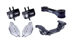 Torque Solution Engine / Trans / Pitch Mount Kit w/ Mount Plates: Subaru WRX 2006-2015 / STI 2006-2016