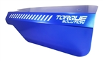 Torque Solution Engine Pulley Cover (Blue): Subaru WRX 2015+ & Forester XT 2014+
