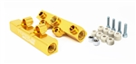 Torque Solution V2 Top Feed Fuel Rails (Gold): Subaru WRX 02-14, STI 07-20, LGT 08-12, FXT 06-13