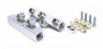 Torque Solution V2 Top Feed Fuel Rails (Silver): Subaru WRX 02-14, STI 07-20, LGT 08-12, FXT 06-13