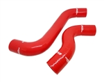 Torque Solution Silicone Radiator Hose Kit (Red): Subaru WRX 2015+ / Forester XT 2014+