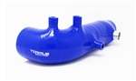 Torque Solution Turbo Inlet Hose (Blue): Subaru WRX 02-14, STI 04-18, LGT 05-2009, FXT 04-13
