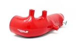 Torque Solution Turbo Inlet Hose (Red): Subaru WRX 02-14, STI 04-18, LGT 05-2009, FXT 04-13