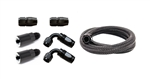 Torque Solution 6an Flex Fuel Add-On Kit: Subaru WRX 02-14, STI 07-20, LGT 07-12, FXT 06-13