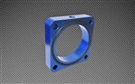 Torque Solution Throttle Body Spacer (Blue): Subaru BRZ / Scion FR-S 2013+