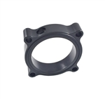 Torque Solution Throttle Body Spacer (Black): Volkswagen / Audi 2.0T FSI TSI