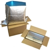 "Foil Insulated Box Liners 6"" x 4.5"" x 6"""