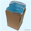 "Foil Insulated Box Liners - 8"" x 8"" x 8"" (Fits in USPS Medium Top Loading Flat Rate Box)"