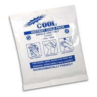 "COOL Instant Ice Pack, First Aid Kit Size 5"" x 6"""