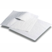 "Avalon Chiropractic Headrest Paper Sheets with Slit 12"" x 12"" - 1,000/Case"