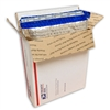 "Foil Metallic Thermal Bubble Mailers, 15"" x 17"" fits USPS Medium Flat Rate TOP LOADING BOX"