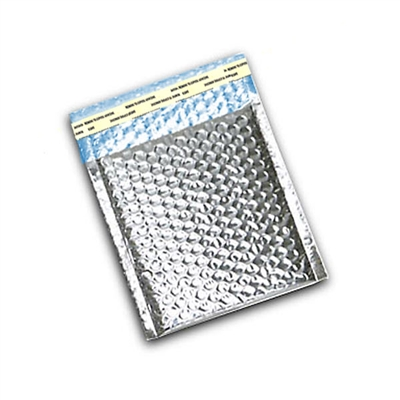 "Foil Metallic Thermal Bubble Mailers 6"" x 6.5"""