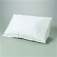 "Disposable Pillowcases, Spunbond Nonwoven, 21"" x 30"" White - 100/Case"