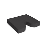 "Foam Coccyx Cushion - Size: 18"" x 18"" x 2"""