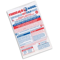 "Therma-Kool Reusable Hot Cold Pack 6"" x 9"" BULK"