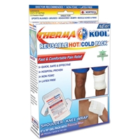 "Therma-Kool Hot Cold Pack with Freedom Wrap 6"" x 10"""