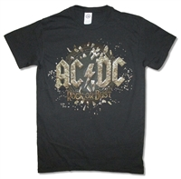 AC/DC In Rock We Trust 2015 N.A. Tour Tee