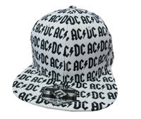 AC/DC Logos All Over Print Cap