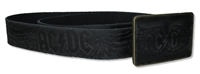 AC/DC Embossed Inlay Belt