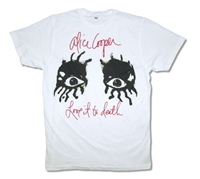Alice Cooper Love It To Death Tee