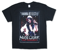 Alice Cooper I Wanna Be Elected 2016 Tour Tee