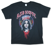 Alice Cooper Heads Will Roll 2016 Tour Tee