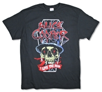 Alice Cooper I Love The Dead 2017 Tee (B-EP)
