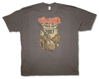Aerosmith Distressed Sketch 2007 Tour 30/1 Tee
