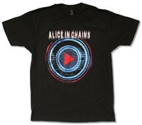 Alice In Chains Play Button Tee