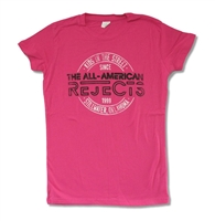All American Rejects Stamp 2012 Tour Junior Baby Doll
