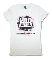 All American Rejects Splatter Non-Tour Junior Baby Doll