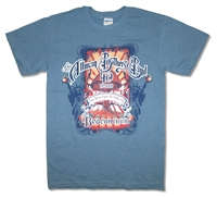 The Allman Brothers Liberty 'Shroom March 2009 Tour Tee