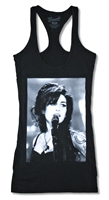 Amy Winehouse Live Shot Junior Tank Top