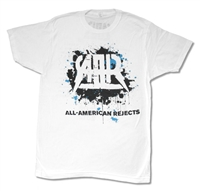 All American Rejects Splatter 2012 Tour Tee