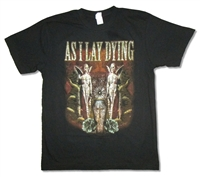 As I Lay Dying Coffin 30/1 Slimfit Tee