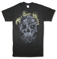 As I Lay Dying Cracked Skull 30/1 Slim Fit Tee